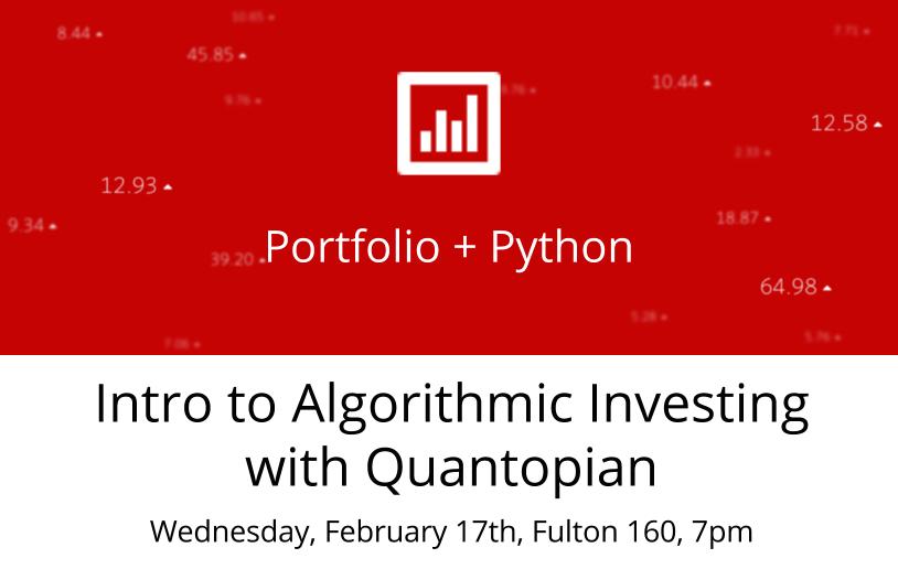 Quantopian – Crowdsourcing Investment Algorithms – Digital ...
